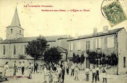France > [54] Meurthe Et Moselle > Burlbecourt-aux-Chênes > L'église Et L'école  / 97 - Altri Comuni