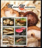 MALAWI, 2018, MNH, MUSHROOMS, SHEETLET+ 6 S/SHEETS - Mushrooms