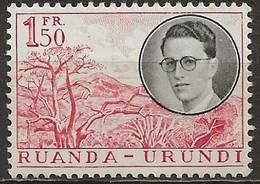 RUANDA-URUNDI: **, N° YT 196, TB - 1948-61: Nuovi