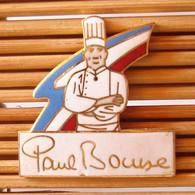 Joli Pin's Paul Bocuse, émail Grand Feu, TBQ, Pins Pin. - Alimentación