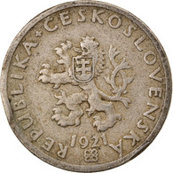 Monnaie, Tchécoslovaquie, 20 Haleru, 1921, TB+, Copper-nickel, KM:1 - Czechoslovakia