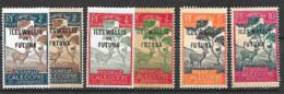 Wallis Et Futuna 6 Timbres Taxe Neufs Avec Ou Sans Charnière - Postage Due