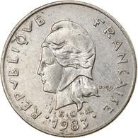Monnaie, French Polynesia, 10 Francs, 1983, Paris, TB+, Nickel, KM:8 - French Polynesia