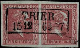 "1858, Nr.10, Luxus-Paar "" TRIER "" , A4369 - Prussia"