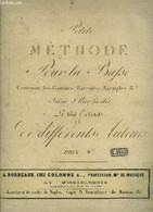 Petite Méthode De Violoncelle, Contenant Les Gammes, Exercices, Exemples & A Suivie D'airs Faciles - Collectif - 0 - Musica