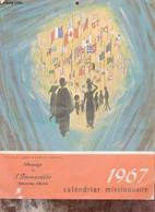Calendrier Missionnaire 1967. - Collectif - 1967 - Agende & Calendari