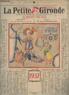 Un Calendrier De La Petite Gironde 1937. - Collectif - 1937 - Agende & Calendari