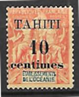 Tahiti N° 32 Neuf Sans Charnière - Tahiti