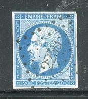 Superbe N° 14A Cachet PC 2259 ( Neuville De Poitou ) - 1853-1860 Napoleon III