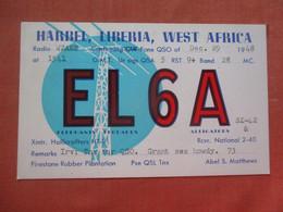 EL6A  Harbel Liberia West Africa      Ref 4795 - Liberia