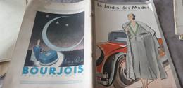 JARDIN DES MODES 31/JANE REGNY/WORTH POIRET LANVIN CHANTAL GOUPY /TULLES DOGNIN RACINE/LAMES PERSANS /VIYELLA - 1900 - 1949