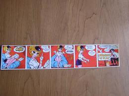 NATACHA 5 Walthéry Autocollants - Billets Loterie Opération 48 81 00 Tombola 1974 48.81.00 Autocollant Bande Dessinée - Stickers