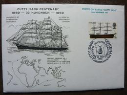 1969  Cutty Sark Centenary   SG = 781 - 1952-1971 Dezimalausgaben (Vorläufer)