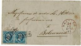 1863, 5 C. Luxus-Paar, Brief!  A4391 - Brieven En Documenten