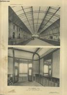 Gare De Biarritz Ville : Halle Des Trains - Salle D'attente Des 2ème Classes - Planche En Noir Et Blanc N°47 Extraite De - Art