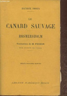 Le Canard Sauvage - Romersholm - Ibsen Henrik - 1946 - Other