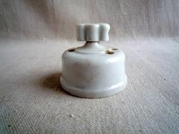 Interrupteur Rotatif Porcelaine 3 Passages. - Luminari
