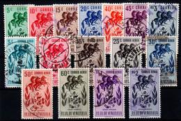Venezuela Nº 431/37, 447/55. Año 1953 - Venezuela