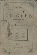 Annuaire Administratif, Statistique, Historique Et Commercial Du Département Du Gers Pour L'année 1880 - Collectif - 188 - Annuaires Téléphoniques