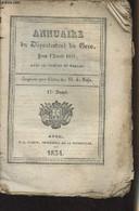 Annuaire Du Département Du Gers, Pour L'année 1834, Avec Le Système De Toaldo, Imprimé Par Ordre De M. Le Préfet - 17e A - Annuaires Téléphoniques