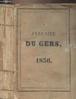 Annuaire Du Gers, Pour L'année Bissextile 1836, Avec Le Système De Toaldo, Imprimé Par Ordre De M. Le Préfet - 19e Année - Annuaires Téléphoniques