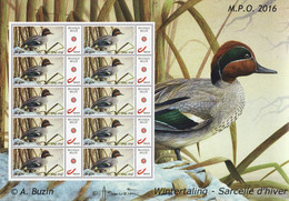 Buzin Wintertaling MPO Mystamps Compleet Vel - Personalisierte Briefmarken