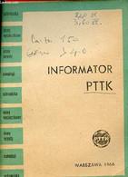 Informator PTTK. - Collectif - 1966 - Cultural