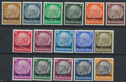 Luxemburg 1/16 ** Postfrisch - Occupation 1938-45