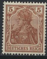 Deutsches Reich 140 ** Postfrisch - Unused Stamps