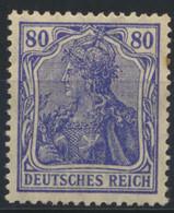 Deutsches Reich 149II ** Postfrisch - Unused Stamps