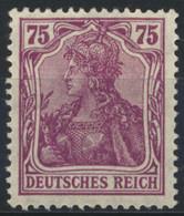 Deutsches Reich 148II ** Postfrisch - Unused Stamps