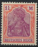 Deutsches Reich 151 ** Postfrisch - Unused Stamps
