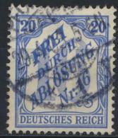 Deutsches Reich Dienst 13 O - Oficial