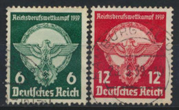 Deutsches Reich 689/90 O - Used Stamps
