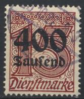 Deutsches Reich Dienst 94 O - Oficial