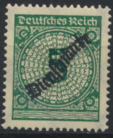 Deutsches Reich Dienst 100 ** Postfrisch - Oficial