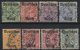 Deutsches Reich Dienst 57/64 O - Oficial