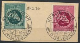 Deutsches Reich 900/01 O Briefstück Sonderstempel Berlin - Usados