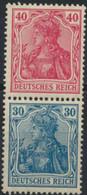 Deutsches Reich Zusammendruck S21 * - Se-Tenant