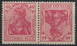 Deutsches Reich Zusammendruck K3 * - Se-Tenant