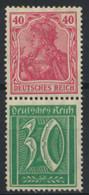 Deutsches Reich Zusammendruck S29 * - Se-Tenant