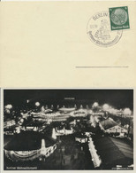 Deutsches Reich 516 Auf Karte Berliner Weihnachtsmarkt Sonderstempel - Briefe U. Dokumente