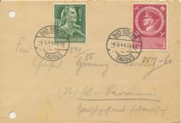 Deutsches Reich 887,894 Auf Brief - Covers & Documents