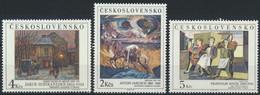 CSSR 3025/27 ** Postfrisch - Unused Stamps