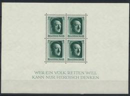 Deutsches Reich Block 7 * - Blocks & Sheetlets