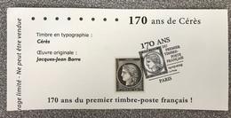 170 Ans De Cérès 0.20 Cts Noir Poste 2020 Avec Obliteration Premier Jour - Usati