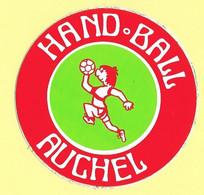 AUTOCOLLANT STICKER - HAND BALL HANDBALL AUCHEL - SPORT - CLUB SPORTIF - Stickers