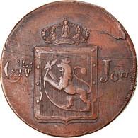Monnaie, Norvège, Carl XIV, Skilling, 1820, TTB, Cuivre, KM:286 - Norway