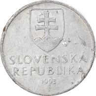 Monnaie, Slovaquie, 10 Halierov, 1993, TB+, Aluminium, KM:17 - Slovakia