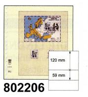 LINDNER-T-Blanko - Einzelblatt 802 206 - Blank Pages